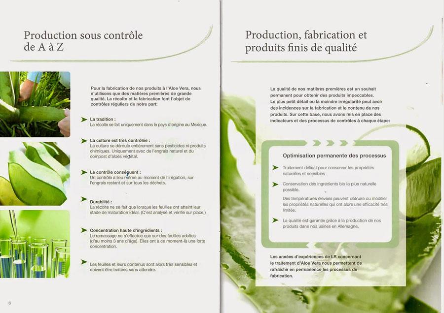 Aloe Vera - Production sous contrôle