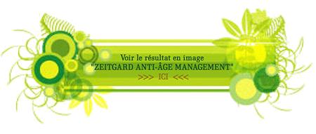Bannière résultat en image ZEITGARD ANTI-ÂGE MANAGEMENT