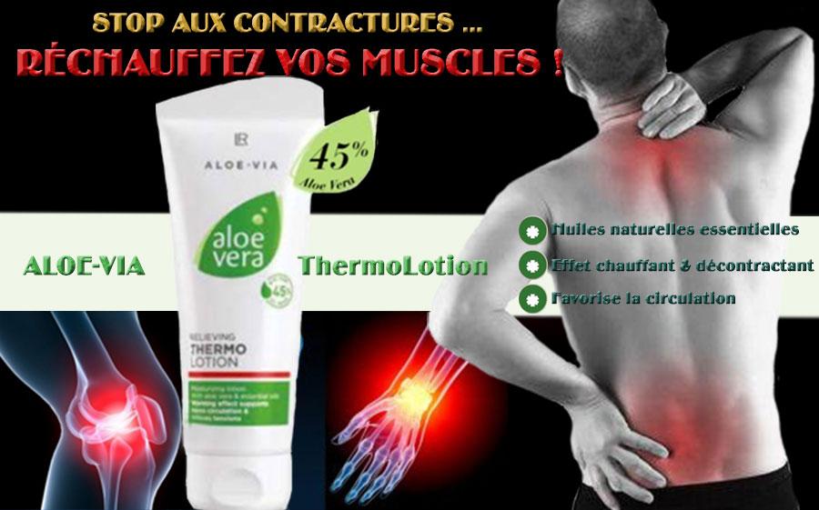 LR Aloe Via ThermoLotion le traitement chauffant des muscles et des articulations
