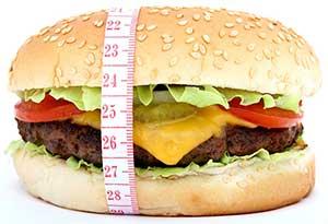 Mincir certes pas avec le Hamburger qui est facteur de prise de poids