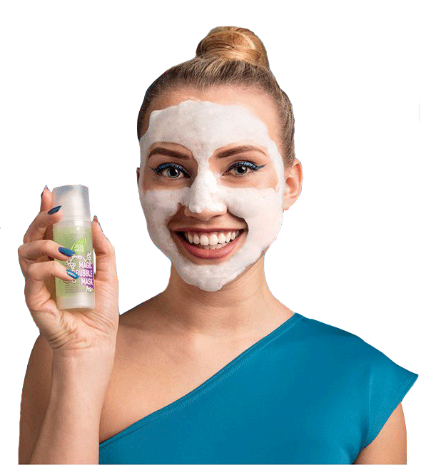 Aloe Vera Magic Bubble Mask - Le masque facial detox pour un teint purifié et rayonnant de beauté