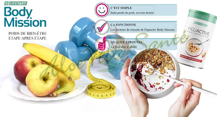Lifetakt Figuactive Body Mission le poids de bien-être étape après étape