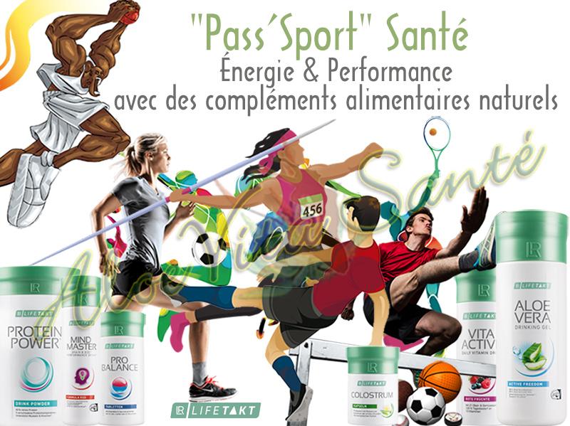 """LR Lifetakt Pass'Sport"""" Santé - Des compléments alimentaires naturels"""
