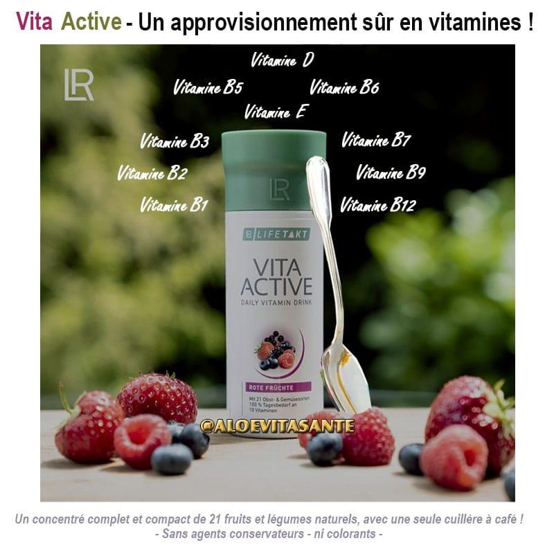 Vita Active - Un approvisionnement sûr en vitamines !